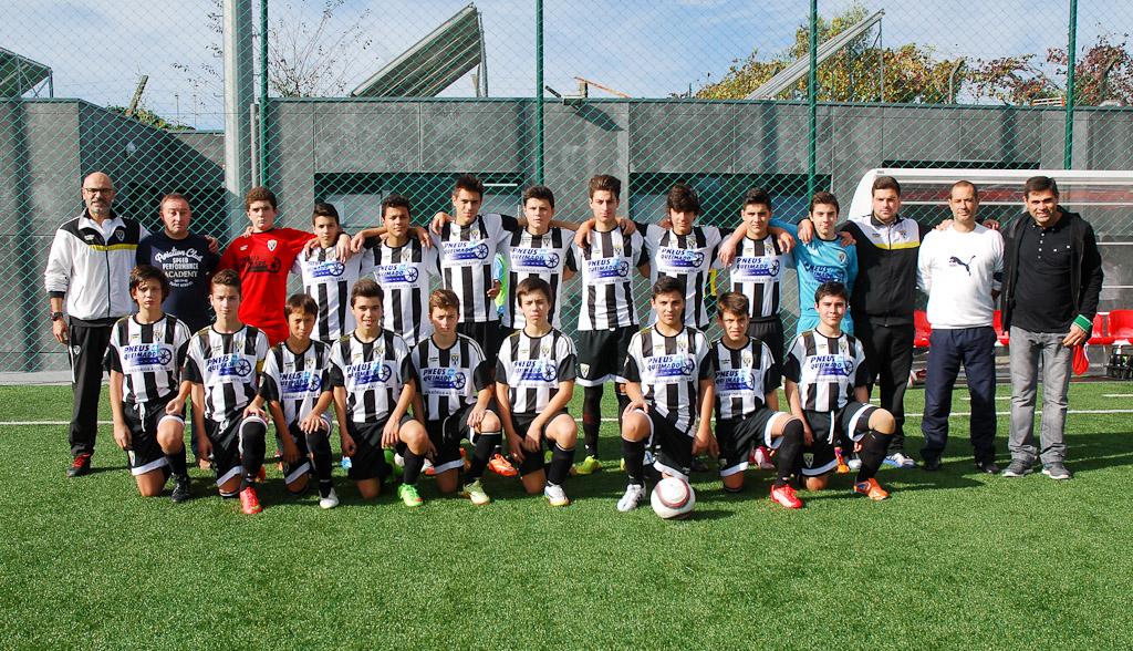 20151101 - Iniciados A x Sousense